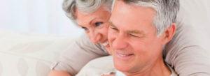 Header - Medicare Insurance Couple Hugging