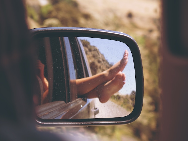 road trip in summer