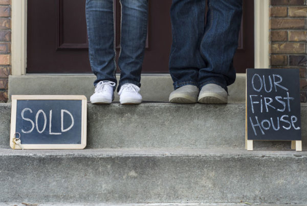 a couple bought first home together