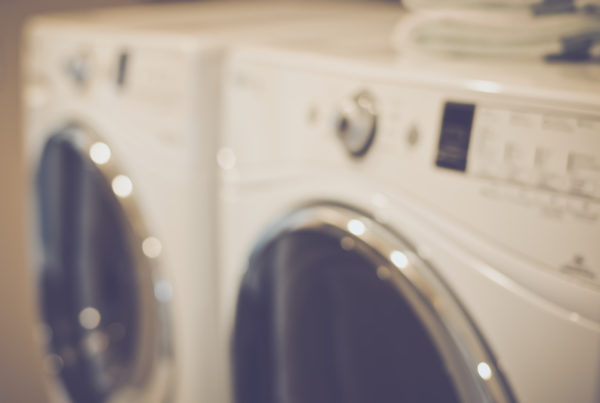 washing machine in house