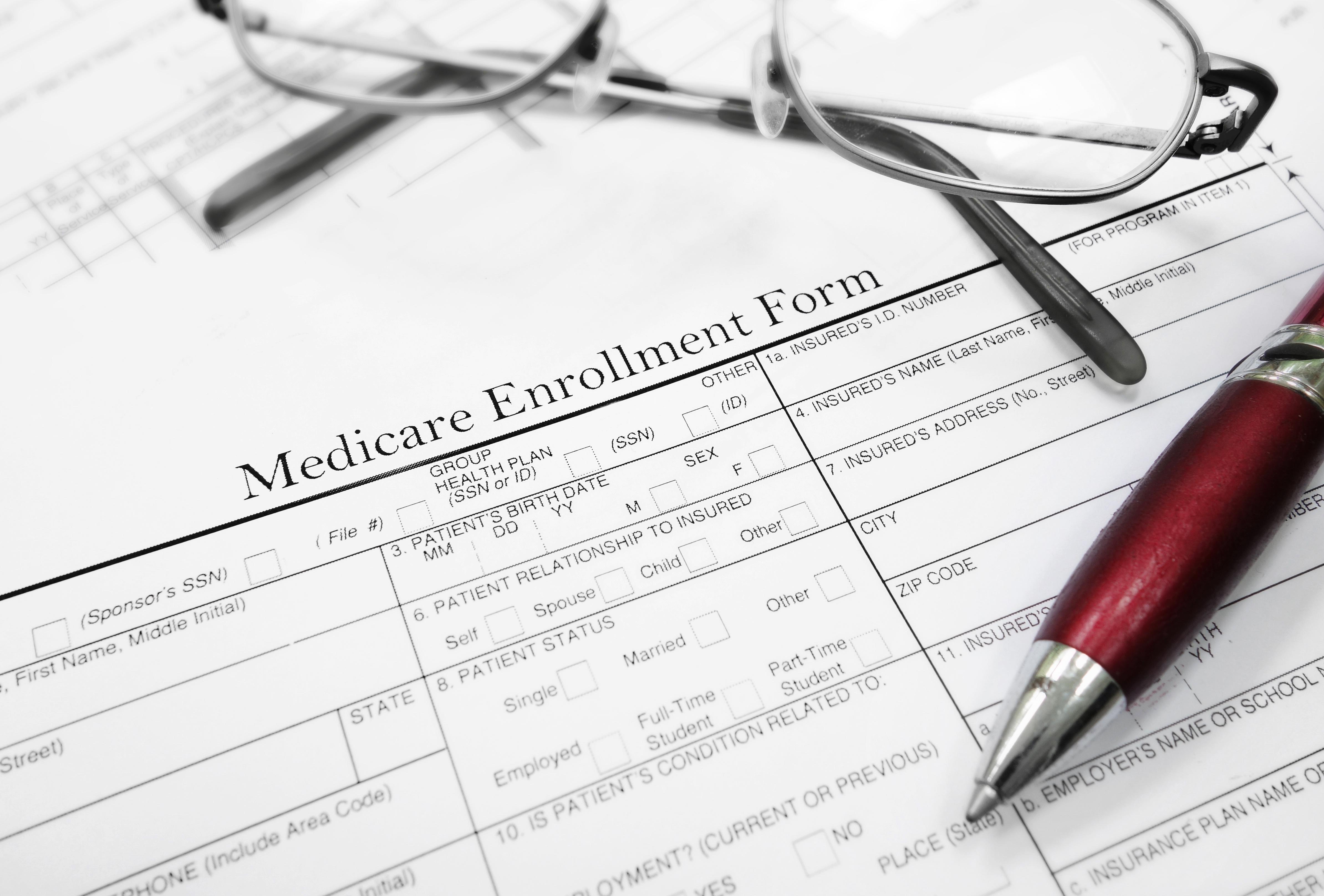 a medicare open enrollment form